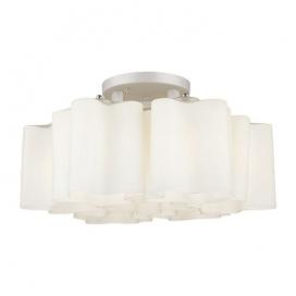 Aca Επτάφωτο Φωτιστικό Οροφής Λευκό (W24797)