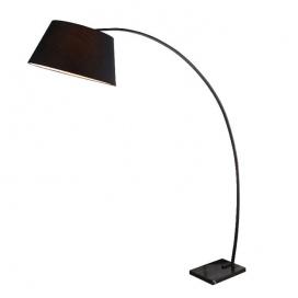 Aca Φωτιστικό Δαπέδου Μαύρο (MF11185BK)