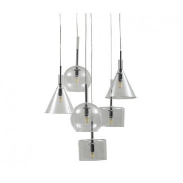 Luma Μοντέρνο Πολύφωτο Φωτιστικό Οροφής (6 φώτα)