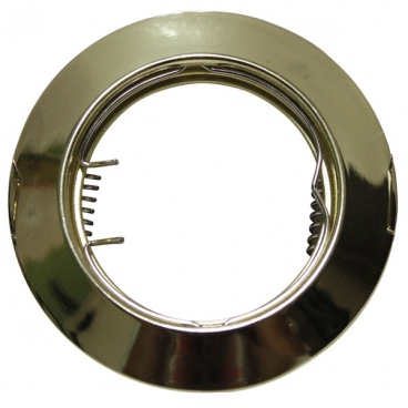 Σποτ Χωνευτό Στρογγυλό Σταθερό MR16 & GU10 Χρυσό (AC.0451042G)