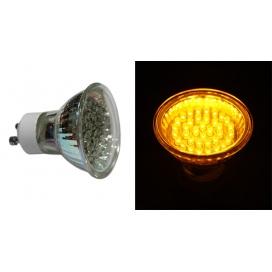 Λάμπα Led 2.1W GU10 Κίτρινο - Πορτοκαλί Dimmable (14-403635)