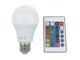 Λάμπα SMD LED A60 8W E27 RGBW (A608RGBWN)