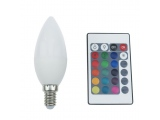 Λάμπα SMD LED 4W E14 RGBW (C37414RGBW)
