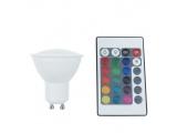 Λάμπα SMD LED Ball 4W GU10 RGBW (GU104RGBW)