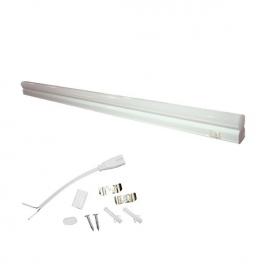 LED SMD πλαστικό γραμμικό φωτιστικό τύπου T5 13W 6000K (PHILO13CW)