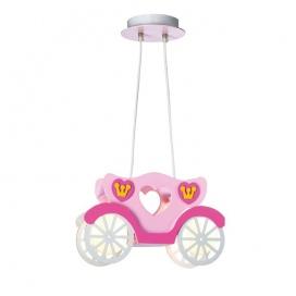Aca Κρεμαστό Παιδικό Φωτιστικό Άμαξα (MD110042P)