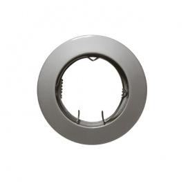 Σποτ Χωνευτό Στρογγυλό Σταθερό MR16 & GU10 Νίκελ Περλέ (AC.0451042PN)