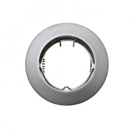 Σποτ Χωνευτό Στρογγυλό Σταθερό MR16 & GU10 Ασημί Περλέ (AC.0451042PS)