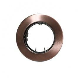 Σποτ Χωνευτό Στρογγυλό Σταθερό MR16 & GU10 Χάλκινο (AC.0451042RA)