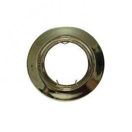 Σποτ Χωνευτό Στρογγυλό Κινητό MR16 & GU10 Χρυσό (AC.0453254G)