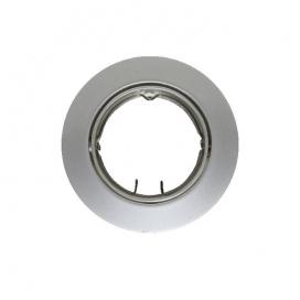 Σποτ Χωνευτό Στρογγυλό Κινητό MR16 & GU10 Νίκελ Περλέ (AC.0453254PS)