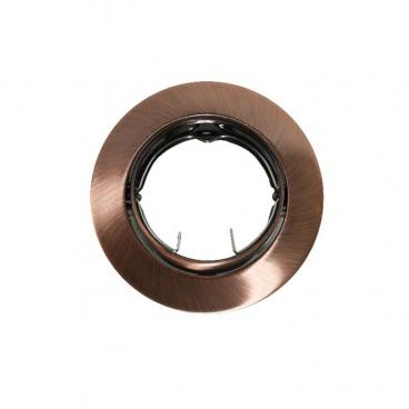 Σποτ Χωνευτό Στρογγυλό Κινητό MR16 & GU10 Χάλκινο (AC.0453254RA)