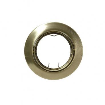 Σποτ Χωνευτό Στρογγυλό Κινητό MR16 & GU10 Χρυσό Ματ (AC.0453254GM)
