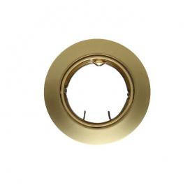 Σποτ Χωνευτό Στρογγυλό Κινητό MR16 & GU10 Χρυσό Περλέ (AC.0453254PG)