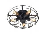 Aca Φωτιστικό Οροφής Μαύρο (V352715C)