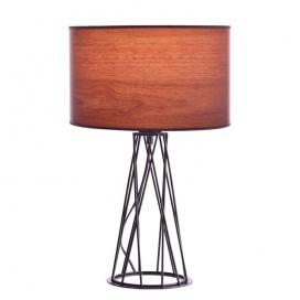Aca Επιτραπέζιο Φωτιστικό Σκούρο Καφέ (V35135TWT)