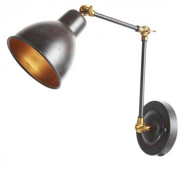 Aca Επιτοίχιο Μονόφωτο Φωτιστικό Σκουριά (EG168871WR)