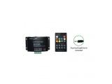 RGB Power Audio LED Controller με τηλεχειριστήριο RF 12V 144W - 24V 288W (RF18-AUDIO)