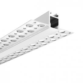 Aca LATE MINI Trimless Προφίλ με πολυκαρβονικό οπάλ κάλυμμα (P79)