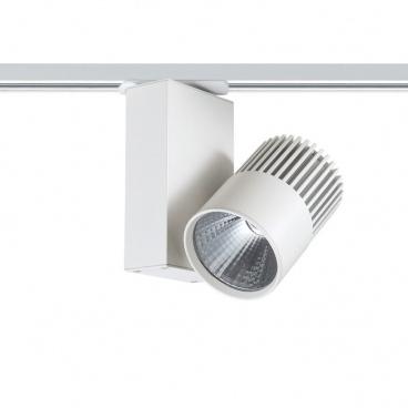 Aca Σποτ ράγας LED COB 2 καλωδίων 15W 3000K Λευκό (BIENAL1530W2)