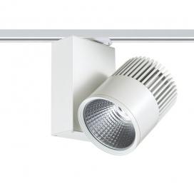 Aca Σποτ ράγας LED COB 2 καλωδίων 30W 4000K Λευκό (BIENAL3040W2)