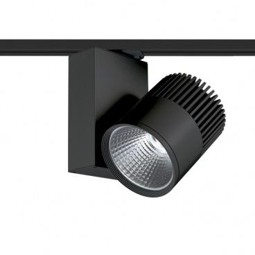 Aca Σποτ ράγας LED COB 2 καλωδίων 30W 3000K Μαύρο (BIENAL3030B2)