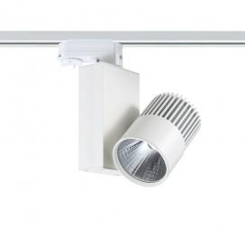 Aca Σποτ ράγας LED COB 4 καλωδίων 15W 3000K Λευκό (BIENAL1530W4)