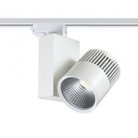 Aca Σποτ ράγας LED COB 4 καλωδίων 30W 4000K Λευκό (BIENAL3040W4)