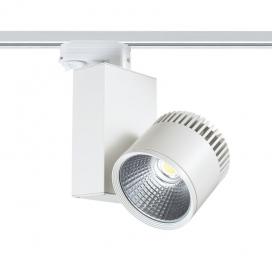 Aca Σποτ ράγας LED COB 4 καλωδίων 45W 3000K Λευκό (BIENAL4530W4)