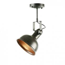 Aca Μονόφωτο Φωτιστικό Οροφής - Τοίχου Σκουριά (EG167071CR)