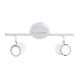 Aca Spot Οροφής 2 Φώτων Λευκό (SUH1892TW)