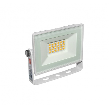 LED SMD Λευκός προβολέας αλουμινίου 10W 120° 4000K (3-37101)