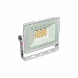 LED SMD Λευκός προβολέας αλουμινίου 10W 120° 6200K (3-37100)