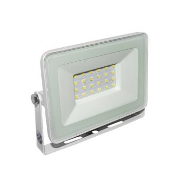 LED SMD Λευκός προβολέας αλουμινίου 20W 120° 4000K (3-37201)