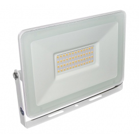LED SMD Λευκός προβολέας αλουμινίου 50W 120° 4000K (3-37501)