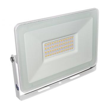 LED SMD Λευκός προβολέας αλουμινίου 50W 120° 4000K (3-37501)