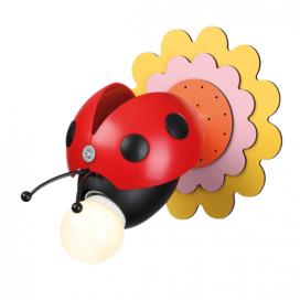 """Aca Παιδικό Μονόφωτο Φωτιστικό Οροφής - Τοίχου """"Μέλισσα"""" (ZN170161WR)"""
