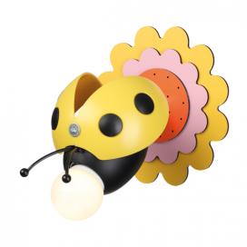 """Aca Παιδικό Μονόφωτο Φωτιστικό Οροφής - Τοίχου """"Μέλισσα"""" (ZN170161WY)"""