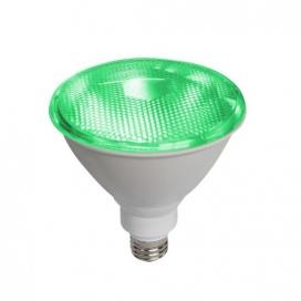 Λάμπα SMD LED 15W PAR38 E27 230V IP65 Πράσινη (PAR3815GR)