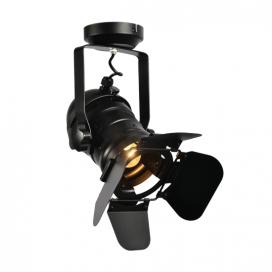 Aca Φωτιστικό Οροφής Μαύρο (OD91131WB)