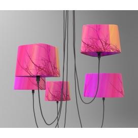 Luma Μοντέρνο Πολύφωτο Φωτιστικό Οροφής (5 φώτα) (100-09800-07P)