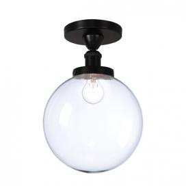 Aca Φωτιστικό Οροφής Μαύρο (OD90151CB)