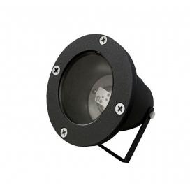 Στεγανό Φωτιστικό Σποτ Αλουμινίου MR16 Μαύρο (4-904121)