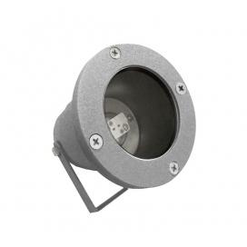 Στεγανό Φωτιστικό Σποτ Αλουμινίου MR16 Γκρι (4-904126)