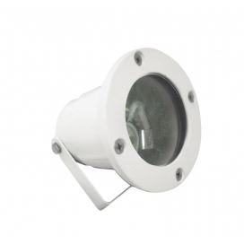 Στεγανό Φωτιστικό Σποτ Αλουμινίου GU10 Λευκό (4-9042200)