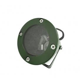 Στεγανό Φωτιστικό Σποτ Αλουμινίου GU10 Πράσινο (4-9042205)