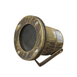 Στεγανό Φωτιστικό Σποτ Αλουμινίου GU10 Ρουστίκ (4-90422071)
