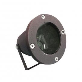 Στεγανό Φωτιστικό Σποτ Αλουμινίου GU10 Σκουριά (4-904220781)