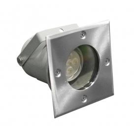 Στεγανό Φωτιστικό Σποτ GU10 Inox (4-9042210)