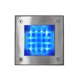 Στεγανό Led Φωτιστικό Δαπέδου 1W Μπλε (3-130446)